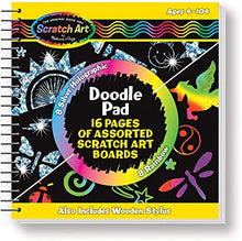 Load image into Gallery viewer, Melissa & Doug Scratch Art Doodle Pad