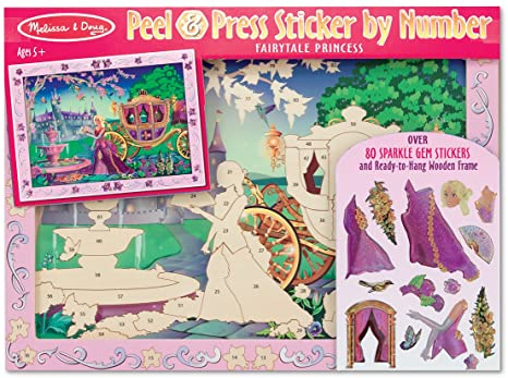 Melissa & Doug Peel and Press Sticker by Number