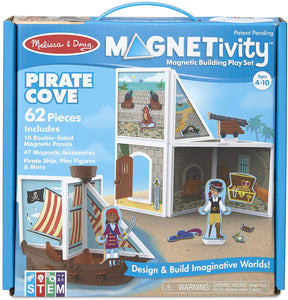 Melissa & Doug Magnetivity Building Play Set Pirate Cove