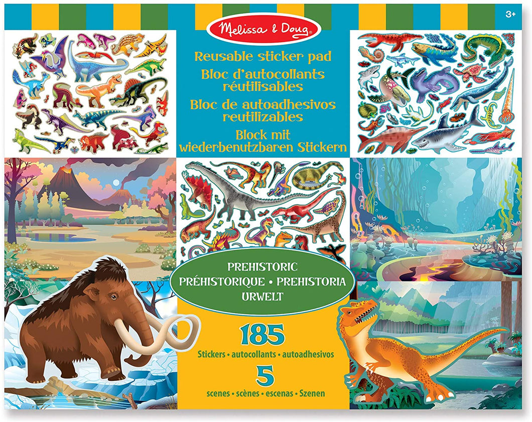 Melissa & Doug Prehistoric Themed Sticker Pad