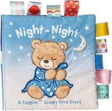 Load image into Gallery viewer, Taggies Night Night Soft Book