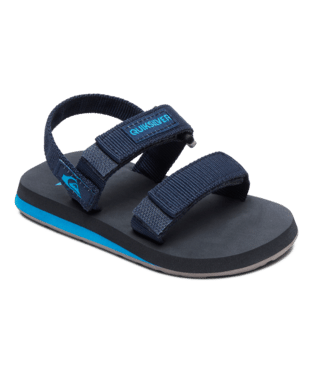 Quiksilver Monkey Caged Toddler Sandals - Blue/Grey/Blue