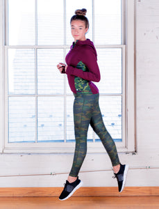 Jill Yoga All over Print Legging