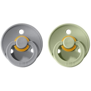 Bibs Natural Rubber Pacifier - 2 Pack