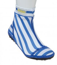 Load image into Gallery viewer, Duukies Beachsocks - Stripe Blue White