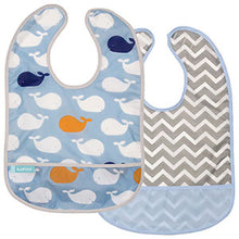 Load image into Gallery viewer, Kushies Cleanbib 2 Pack