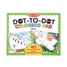 Load image into Gallery viewer, Melissa & Doug Dot-to-Dot Colouring Pad - Pets
