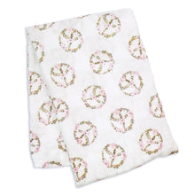 Load image into Gallery viewer, Lulujo Bamboo Muslin Swaddle Blanket