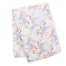 Load image into Gallery viewer, Lulujo Cotton Muslin Swaddle Blanket
