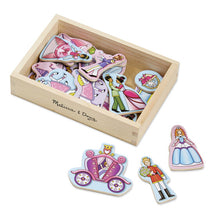 Load image into Gallery viewer, Melissa & Doug Wooden Princess Magnets