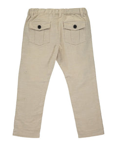 Me & Henry Boy's Stone Twill Trousers