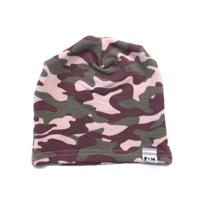 Portage and Main - Camo Beanie