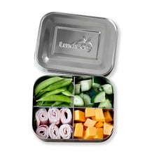 Load image into Gallery viewer, LunchBots 4 Compartment Bento Box (700ml)