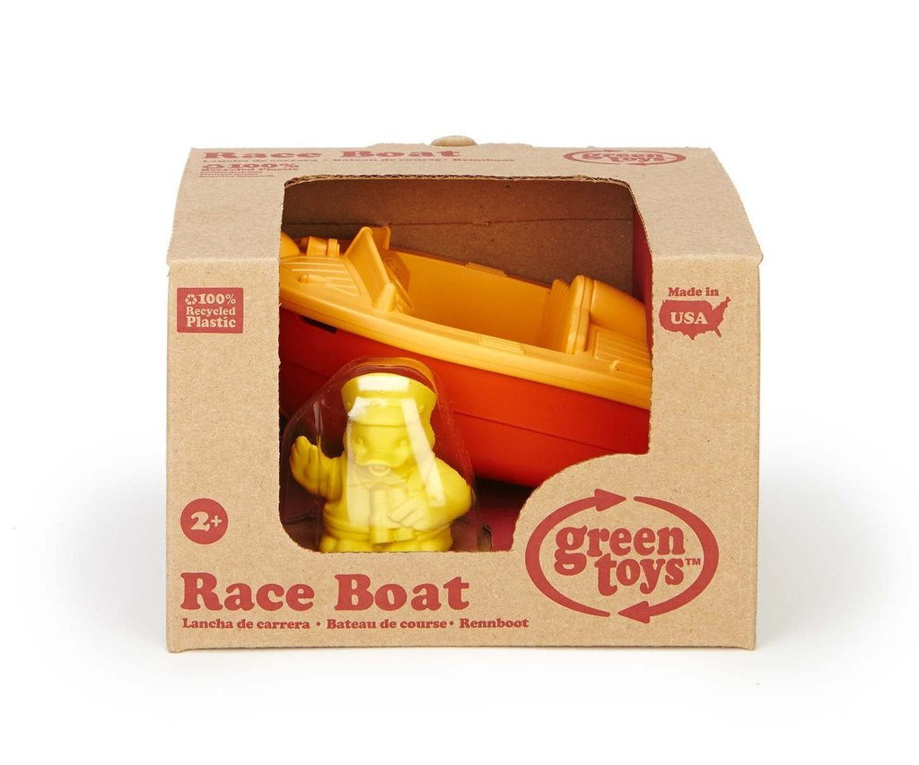 Green Toys Race Boat
