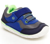 Stride Rite Soft Motion Rhett Sneaker - Navy/Lime