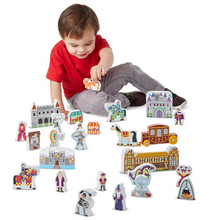 Load image into Gallery viewer, Melissa & Doug Castle Play Set