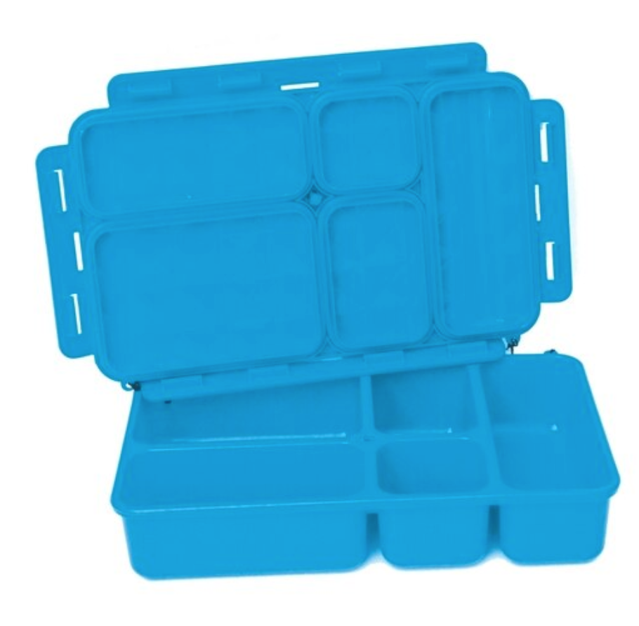 Go Green 5-Compartment Leak-proof Food Box-Large