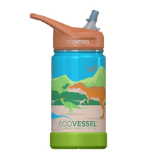 Load image into Gallery viewer, EcoVessel Frost - 12 oz Insulated Stainless Steel Water Bottle with Straw