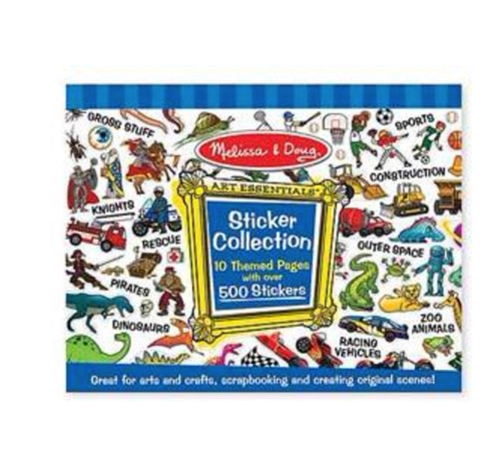 Melissa & Doug Themed Sticker Collection