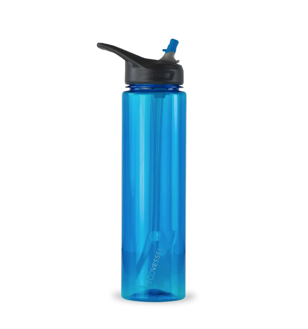 Ecovessel The Wave- BPA Free Sports Water Bottle
