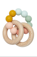 Load image into Gallery viewer, Loulou Lollipop Silicone & Wood Teether