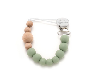 Loulou Lollipop Pacifier Clip - Colour Block