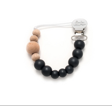Load image into Gallery viewer, Loulou Lollipop Pacifier Clip - Colour Block
