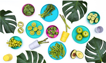 Load image into Gallery viewer, Bobo&boo Plant Based Tablewear Set - Tropical