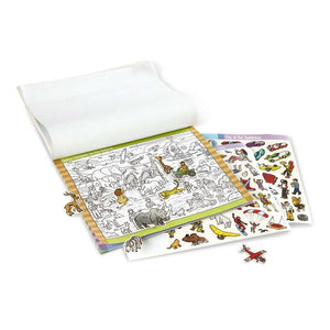 Melissa & Doug Seek & Find Sticker Pad - Adventure