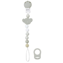 Load image into Gallery viewer, Kushies Silibeads Pacifier Clip
