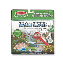 Load image into Gallery viewer, Melissa & Doug Water Wow - Animal Antics Deluxe Water-Reveal Pad