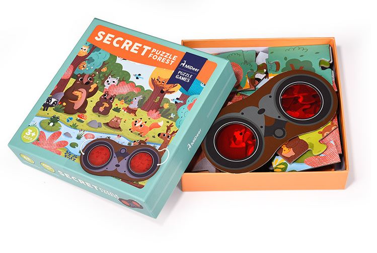 Mideer Secret Forest Games Puzzle
