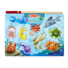 Load image into Gallery viewer, Melissa & Doug Magnetic Wooden Fishing Game
