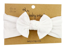 Load image into Gallery viewer, Baby Wisp Bow Headwrap