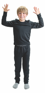 Bula Kids Base Layer - Black