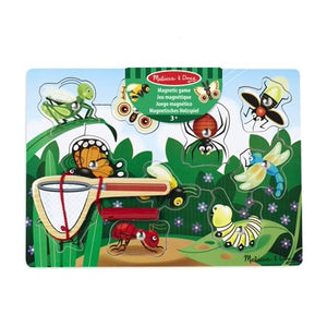 Melissa & Doug Magnetic Wooden Bug Catching Game