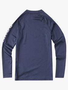 Roxy Whole Hearted Long Sleeve Rashguard-Navy