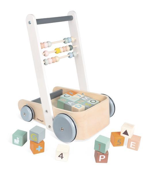 Janod Cart with ABC Blocks