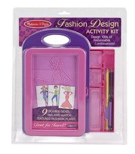 Load image into Gallery viewer, Melissa & Doug Fashion Design Kit