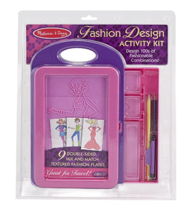 Melissa & Doug Fashion Design Kit