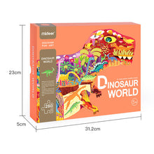 Load image into Gallery viewer, Mideer Dinosaur Shaped Puzzle