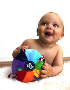 OB Designs Sensory Rainbow Ball