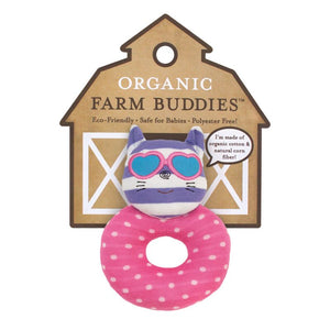Organic Farm Buddies Catnap Kitty Rattle