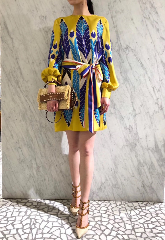 Valentino vibrant SS20 dress