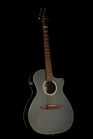 Fender Newporter Special 'Matte Black' Acoustic Electric Guitar