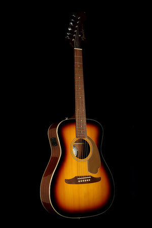 Fender California Player Malibu Sunburst Acoustic Electric Guitar