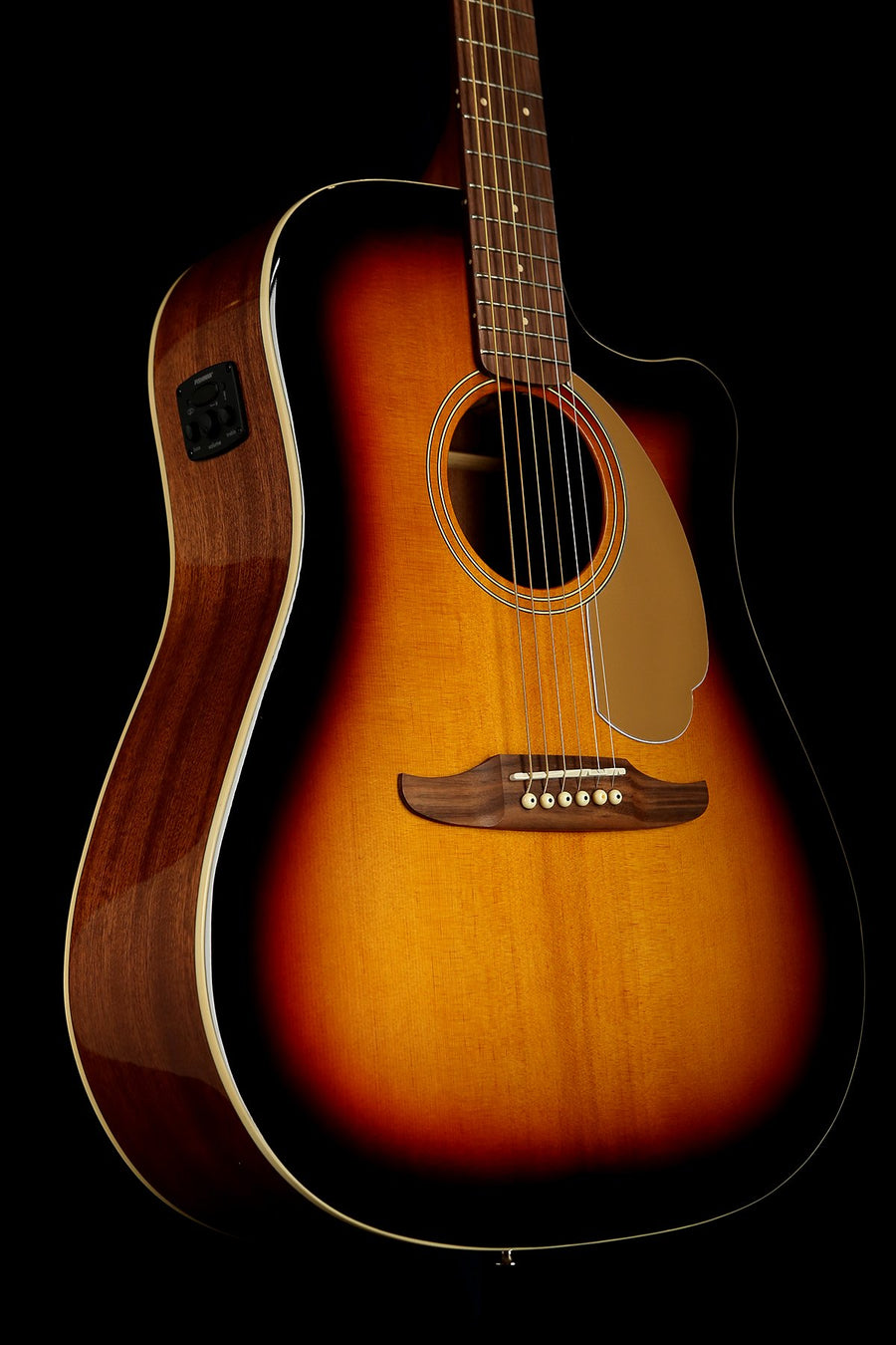 Fender California Player Redondo Sunburst Dreadnought Acoustic Electric Guitar