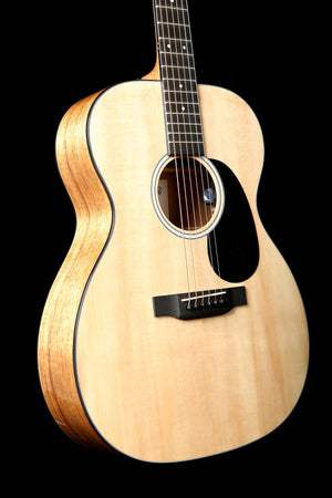 Martin 000-12E Koa Acoustic Electric Guitar: Road Series