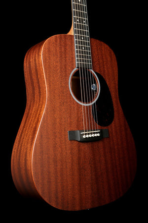Martin D-10E Acoustic Electric Guitar: Road Series