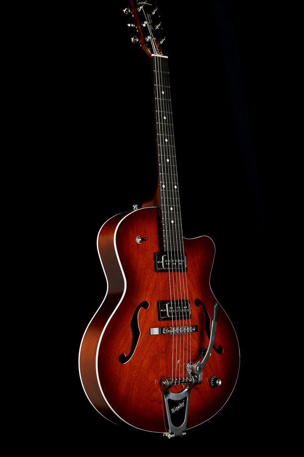 Godin 5th Avenue Uptown T-Armond 'Havana Burst' Electric Guitar